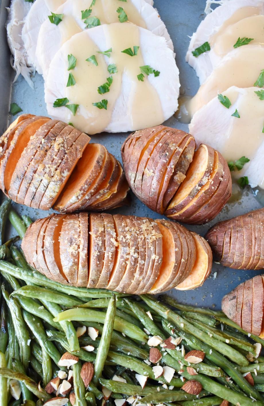 Easy Sheet Pan Thanksgiving Dinner