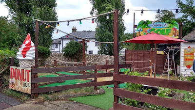 Shanklin Crazy Golf on the Isle of Wight. Photo by Philip Walsh, July 2020