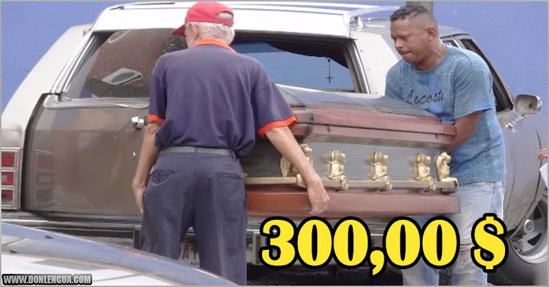 Un Funeral simple en Lara ya vale 300 dólares en efectivo