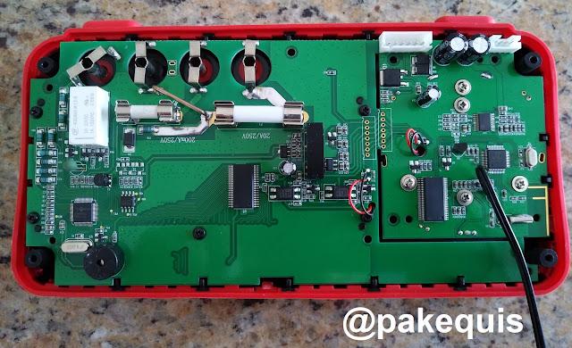 Multímetro Aneng AN888S PCB