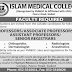 Islam Medical College Sialkot Jobs