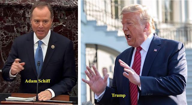 """""""Corrupto"""" e """"mentalmente perturbado"""" diz Trump sobre o presidente do impeachment"""
