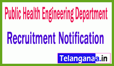 Public Health Engineering Department PHED Recruitment Notification
