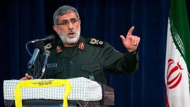 القائد الجديد لفيلق القدس يتعهد بالانتقام لسليماني: وعد من الله