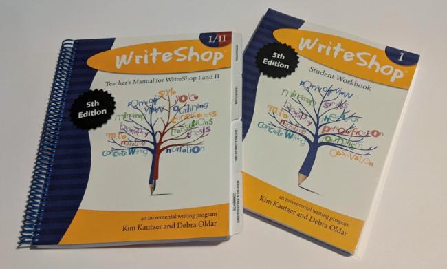 WriteShop I writing curriculum