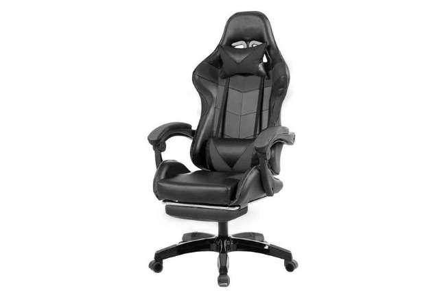 Cadeira Gamer Prizi Canvas - Preta