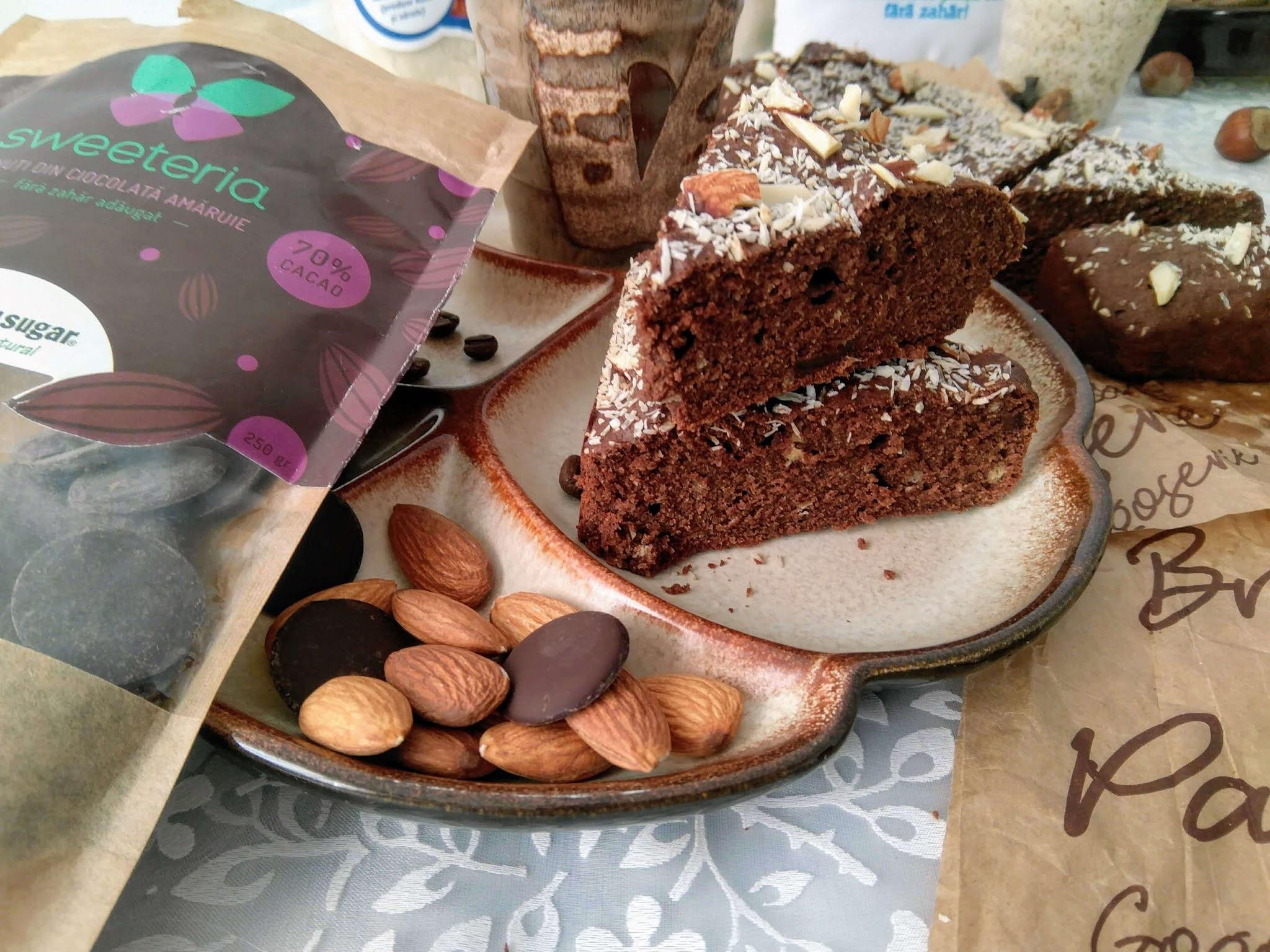 Banuti de ciocolata fara zahar Sweeteria