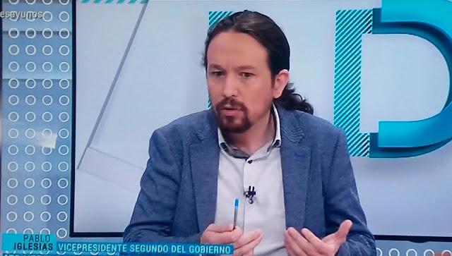 """Iglesias sobre su presencia en la comisión del CNI: """"A algunos parece que les molesta la democracia"""""""