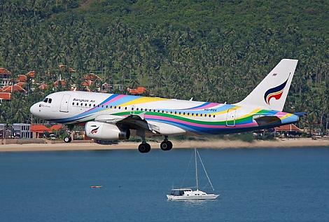 Flights to Koh Samui from Kuala Lumpur Bangkok Airways