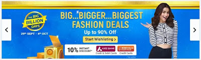Flipkart The Big Billion Days Sale