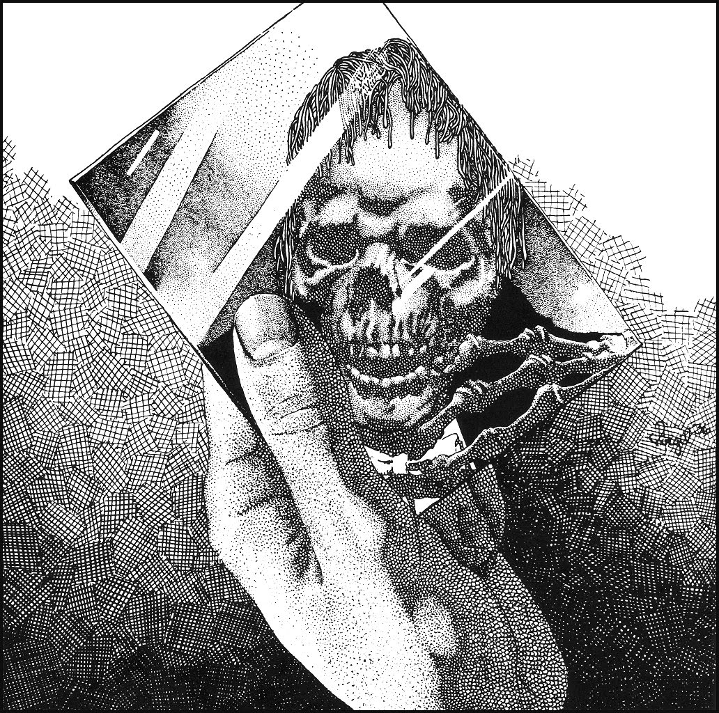 A wolf illustrations blog the art of virgil finlay - Oneohtrix point never garden of delete ...