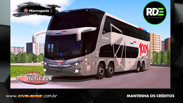 PARADISO G7 1800 DD 8X2 - VIAÇÃO AUTO VIAÇÃO 1001