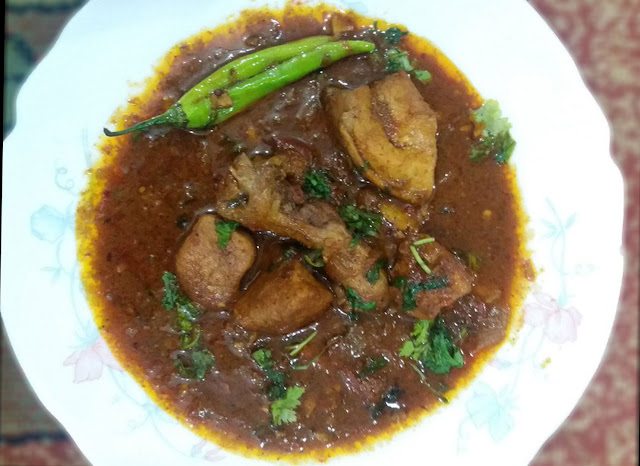 Achari Chicken Preparation Process - Full Recipe in Detail
