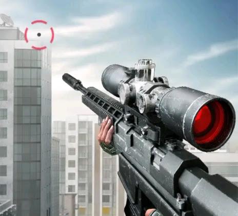 لعبة إطلاق النار FPS متعددة اللاعبين عبر الإنترنت وبدون انترنت. العب كقناص قاتل