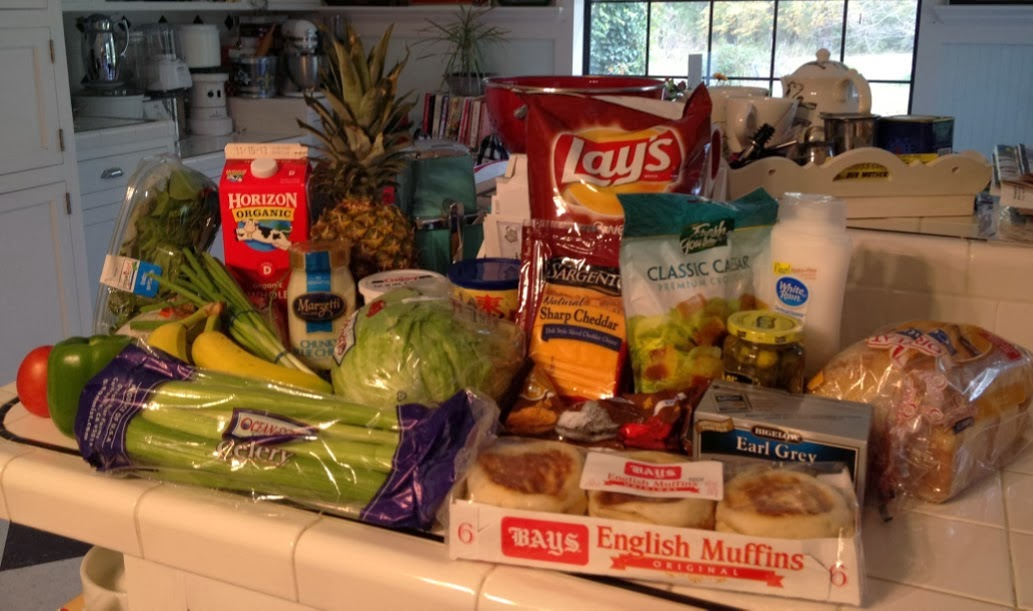 A small grocery haul - Life with Dee