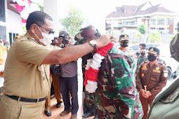 Edi Langkara dan Abdul Rahim Odeyan Terima Kunjungan Jefri Apoly Rahawarin di Halteng