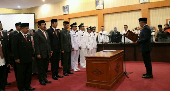 Bupati Ajak 50 Pejabat Baru Fokus ke Pelayanan Masyarakat
