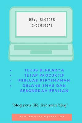 Ayo Semangat Ngeblog, Blogger Indonesia