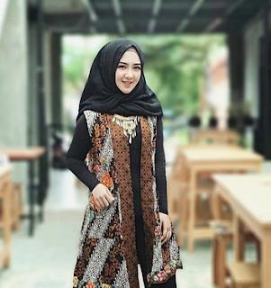50+ Model Baju Batik Atasan Wanita Terbaru 2019 Modis