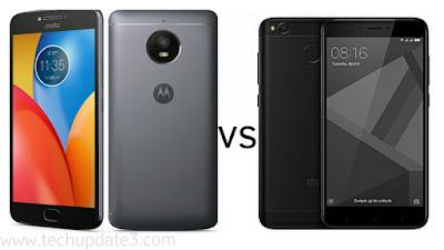 Moto E4 Plus vs Xiaomi Redmi 4