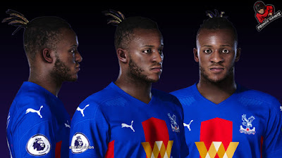 PES 2021 Faces Michy Batshuayi by Prince Hamiz