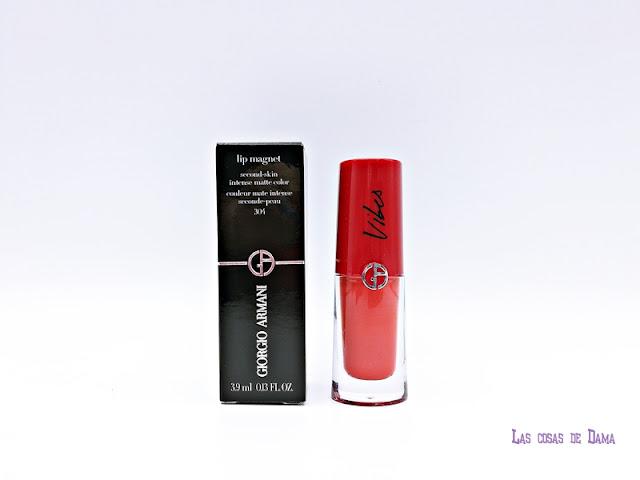 Colección Lip Vibes Giorgio Armani liquidlips fluid lips labios labiales makeup maquillaje beauty alta gama verano primavera