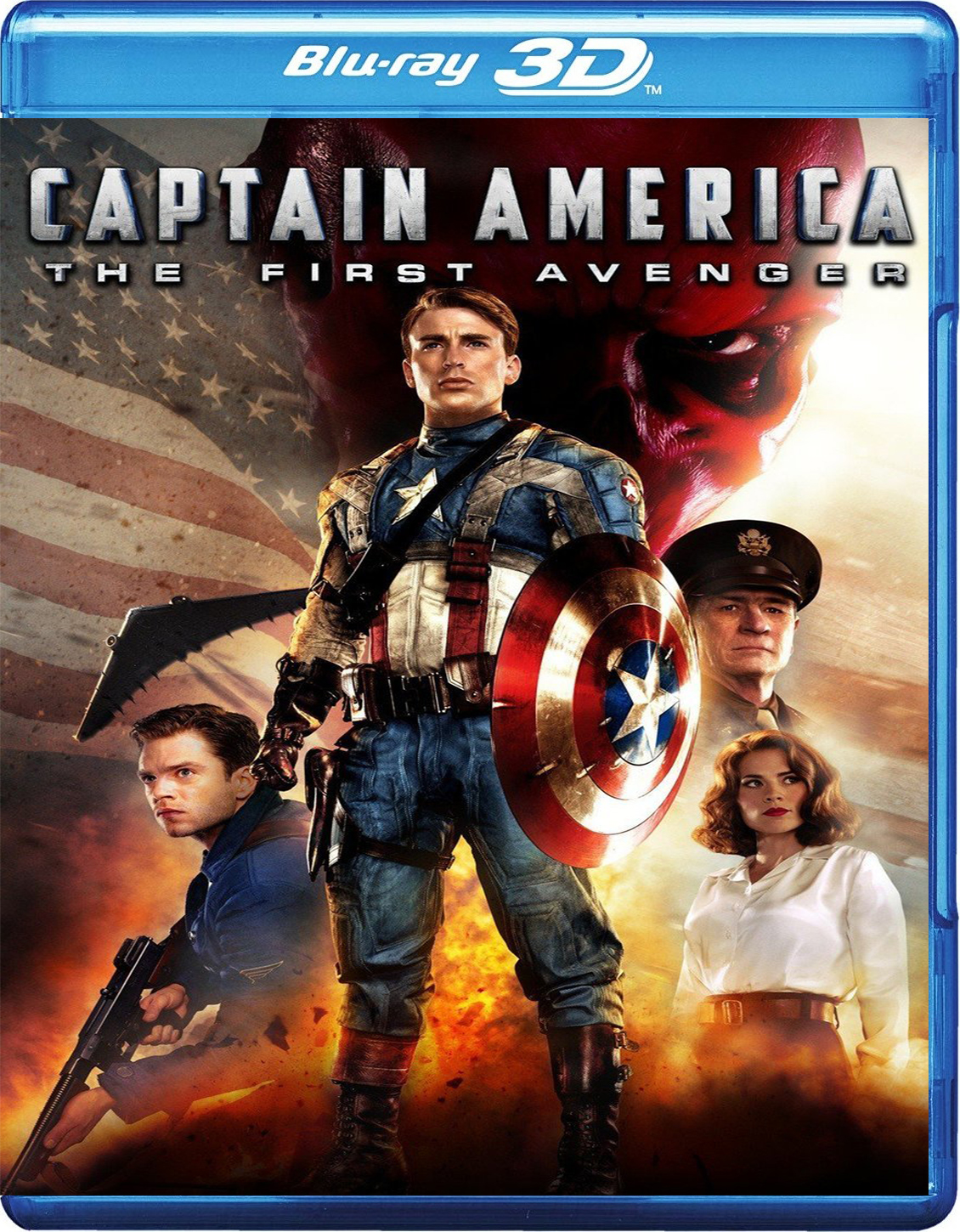 Captain America: The First Avenger [2011] [BD50] [Español] [3D]