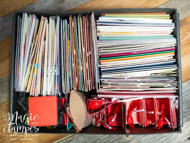 Une foule de projets de scrapbooking et Carterie créés par Marika Lemay