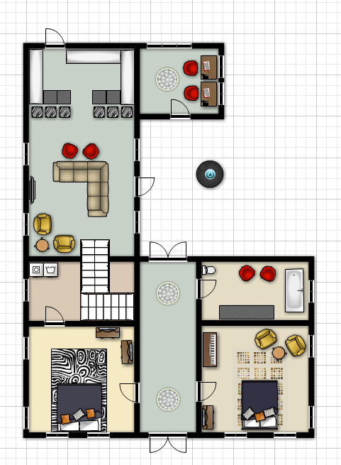 The House At Sugar Creek Our Newest Room Layout Ideas