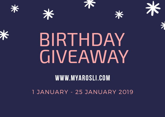 Birthday Giveaway