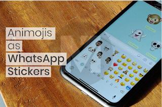 Memoji whatsapp || Cara Kirim Animoji atau Memoji Sebagai Stiker WhatsApp