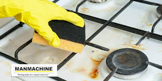 Cleaning burner