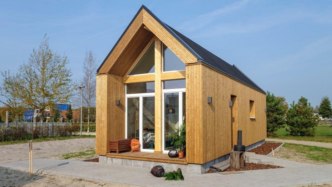 Crean casas que entran en predios reducidos