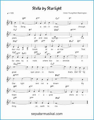 stella by starlight lagu jazz standar