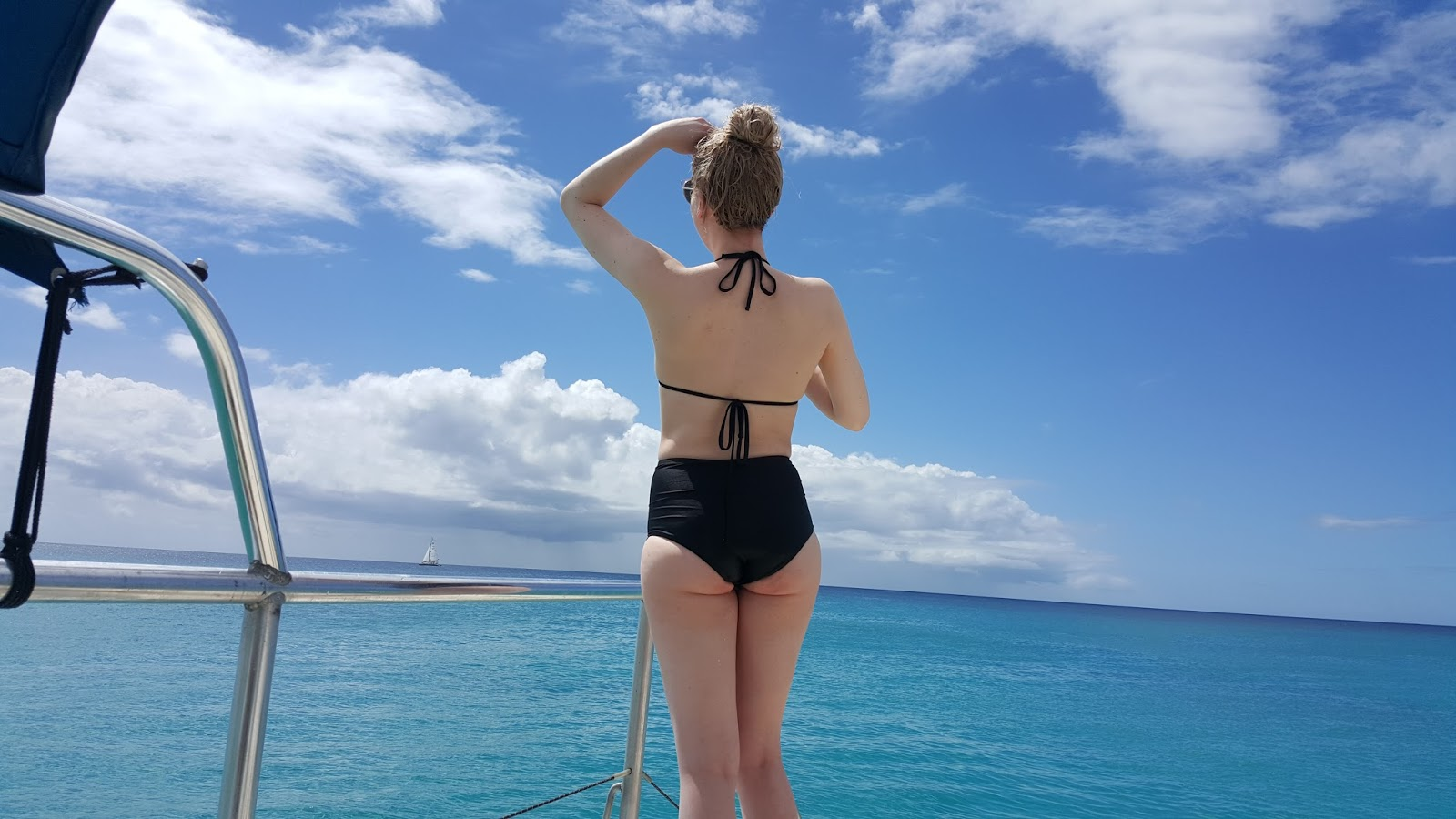 Chloe Gordon year in review Barbados bikini