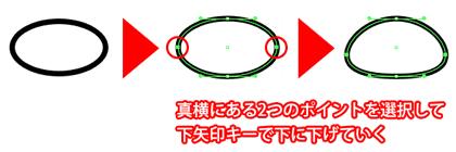 まんじゅう型形状作成方法