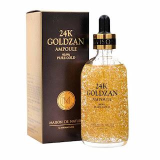 24K Goldzan Ampoule - Kulit Lebih Sihat Dan Cantik
