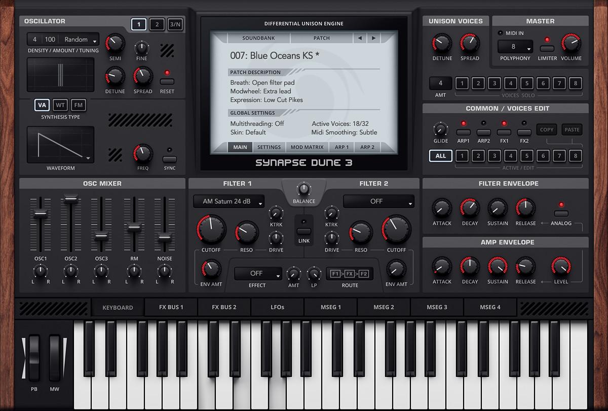 Synapse Audio - DUNE v3.0.7 Full version