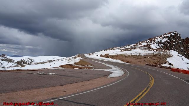 Scenic Pikes Peak Highway