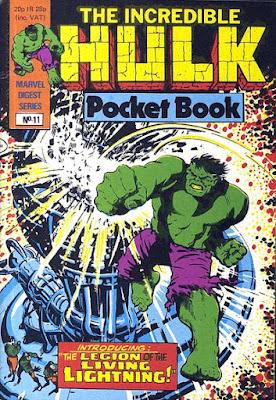 Incredible Hulk pocket book #11