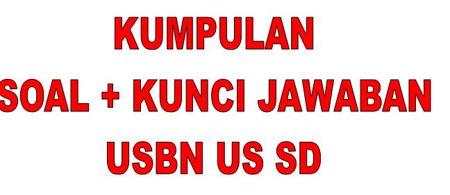 Soal USBN  Bahasa indonesia SD + Kunci Jawaban Dan Pembahasan Terbaru 2020 (nomor 31-45)