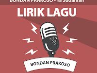 Lirik Lagu Ya Sudahlah - Bondan Prakoso