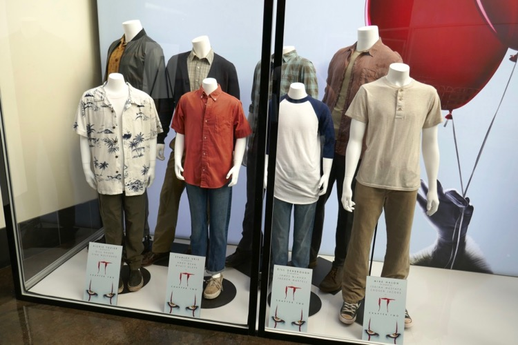 IT Chapter Two movie costumes