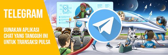 Panduan Cara Transaksi Pulsa Via Telegram