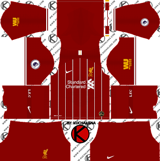 Liverpool FC 2019/2020 Nike Kit Concept - Dream League Soccer