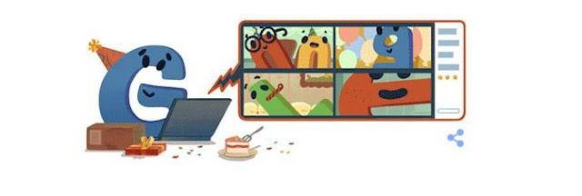 Google के 22 वें जन्मदिन पर बनाया अपना डूडल, लोग कर रहे पसंद