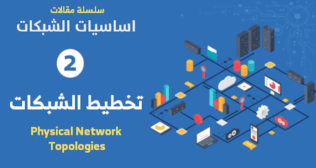 Physical Network Topologies تخطيط الشبكات