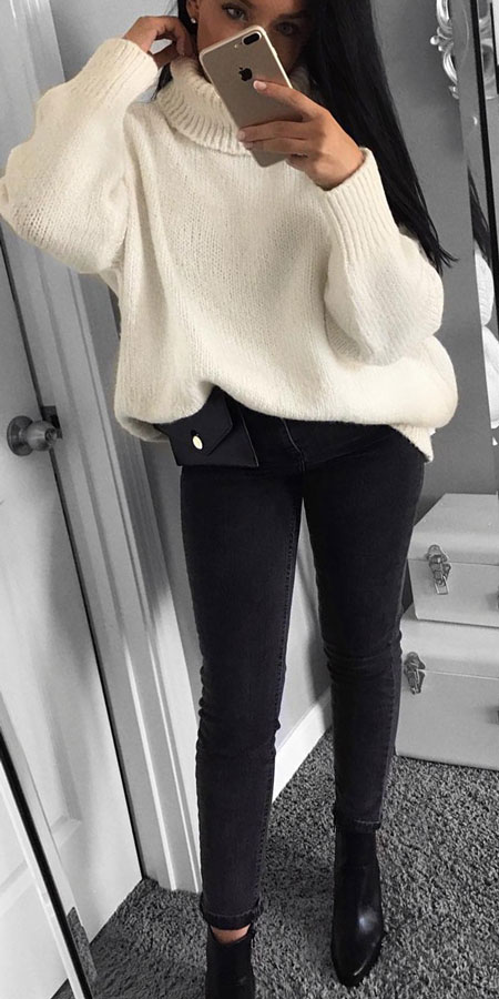 27+ Simple Winter Outfits To Make Getting Dressed Easy. winter clothes style winter day outfits winter fashion inspiration style inspiration winter winter fashions winter fashion ideas #casual #casualstyle #casualoutfits #dresses