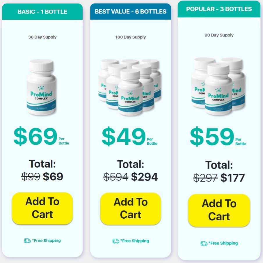 Buy Promind Complex Supplement