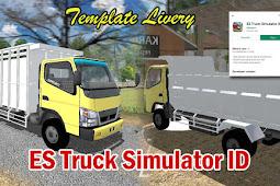 Template Livery ES Truck Simulator ID